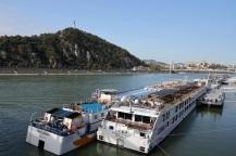 Crossing the Danube, Budapest, Hungary