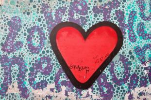 Love thy Neighbor by Luke Embden, Street Art, Budapest, Hungary