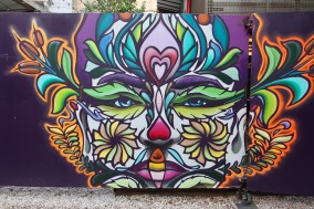 Day of the Dead, Street Art, Budapest, Hungary