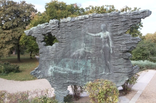 Memorial to Hungarian resistance fighters, Budapest, Hungary