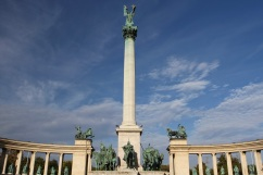 Millennium Monument, Heroes' Square, Budapest, Hungary
