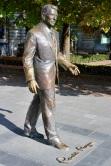 Ronald Reagan statue, Budapest, Hungary