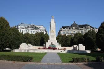 Soviet Russian memorial, Budapest, Hungary