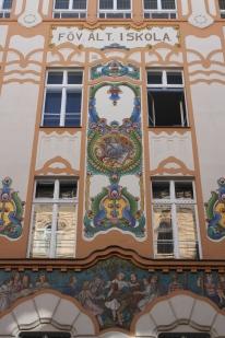 School building, Budapest, Hungary