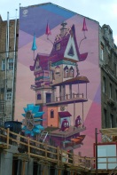 Living Space by Fat Heat and Bea Pántya, Street Art, Budapest, Hungary