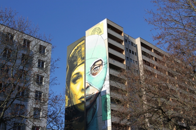 2268miles & Luchadora Pachamama, Tankpetrol and Queenkong, Street Art, Berlin, Germany