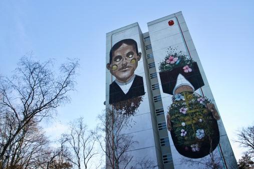 Street Art by Pixel Pancho, Berlin, Germany