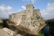 Krak des Chevaliers, Crusader Castle, Syria