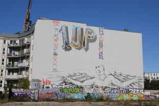 1 UP, Street Art, Berlin, Germany