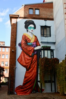 Engeika, Street Art by Irish artist Fin DAC, Berlin, Germany