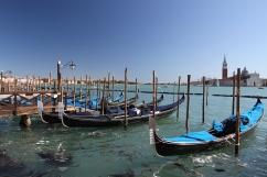 Gondolas, Grand Canal, Venice, Italy