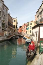 Gondolas, Venice, Italy