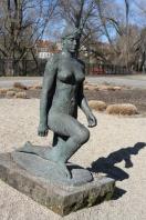 Sculpture, Frankfurt an der Oder, Germany