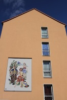 Soviet-era house, Frankfurt an der Oder, Germany