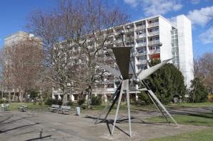 Scheibenhochhaus by Egon Eiermann, Hansaviertel, Berlin, Germany