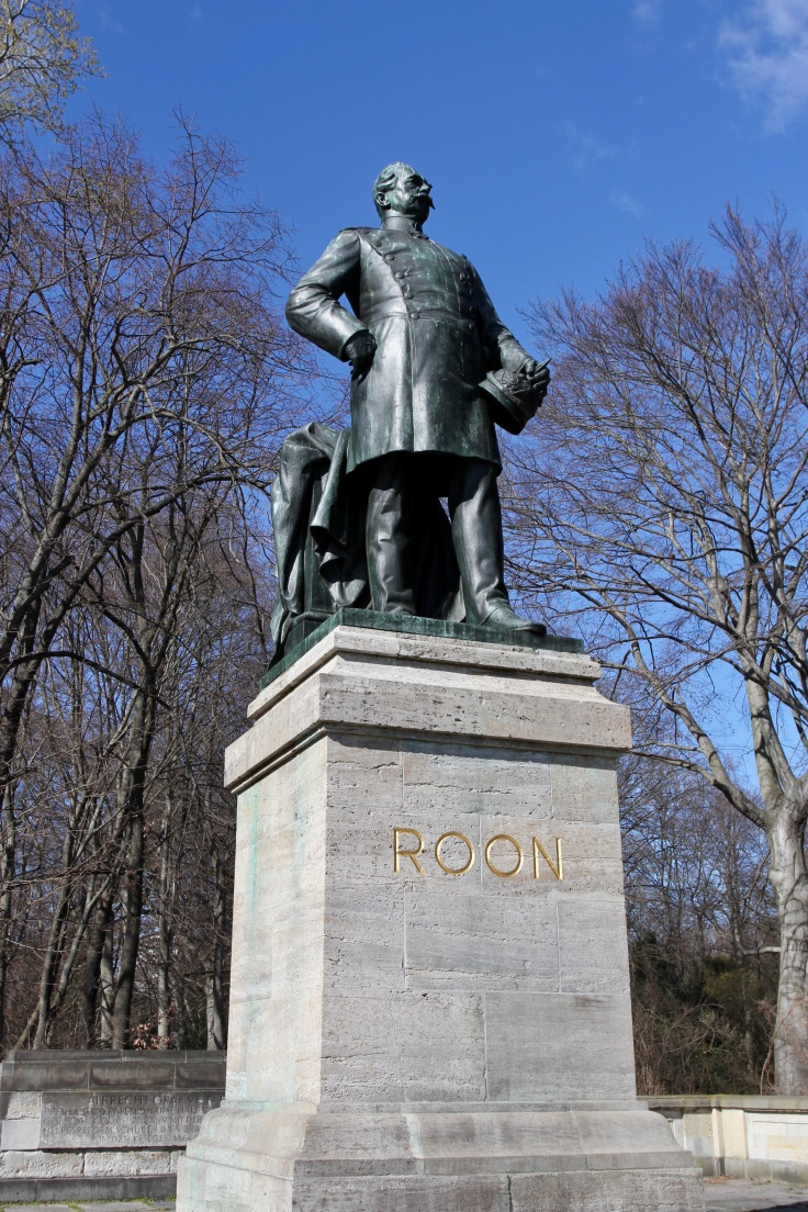 Roon Memorial, Tiergarten, Berlin, Germany