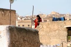 Rooftops, Medina, Fez, Morocco
