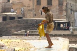 Chouara Tannery, Medina, Fez, Morocco