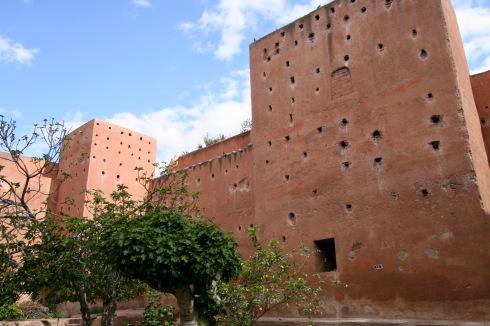 Medina Walls, Marrakesh, Morocco