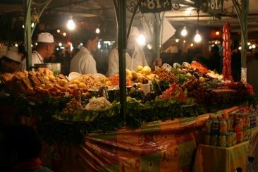 Jama El f'na Market, Marrakesh, Morocco
