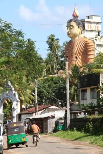 Buddhist statue, Sri Lanka