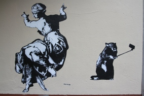 Blek le Rat, Street Art, Berlin, Germany