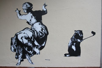 Blek le Rat, Street Art, Berlin, Germany