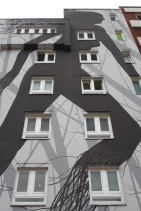 Grey Habitat by David de la Mano, Street Art, Berlin, Germany