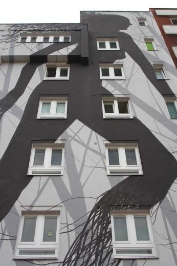 Grey Habitat by David de la Mano, Street Art, Berlin, Germany