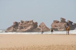 Borj El Baroud ruins, Beach, Essaouira, Morocco
