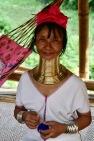 Kayan woman, Chiang Mai, Thailand