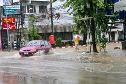 Flooding, Chiang Mai, Thailand