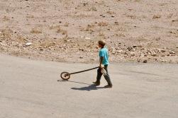 Boy Plays, Qasr Ibn Wardan, Syria