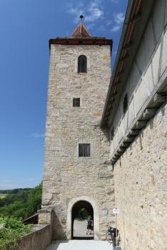 Franziskanerturm, Rothenburg ob der Tauber, Germany