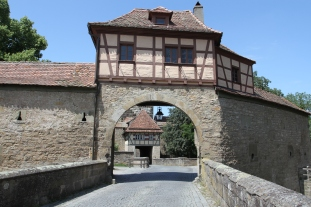 Röderturm, Rothenburg ob der Tauber, Germany