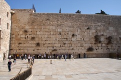 Western or Wailing Wall,, Jerusalem, Israel and Palestine