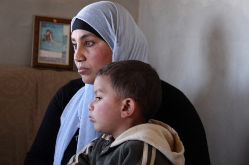 Mother and child health clinic, West Bank, Palestine