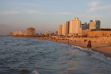 Sunset, Tel Aviv, Israel and Palestine