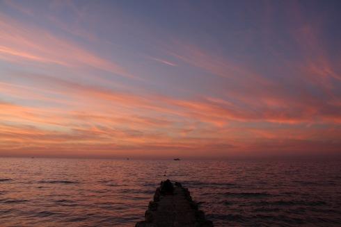 Sunset, Jaffa, Israel and Palestine