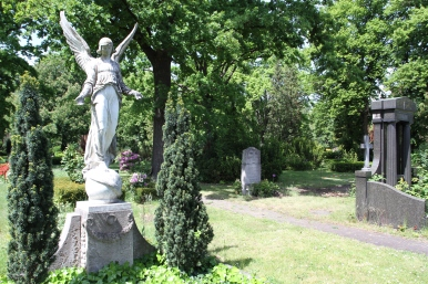 Cemetery, Rote Insel, Schöneberg, Berlin, Germany