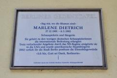 Marlene Dietrich house, Rote Insel, Schöneberg, Berlin, Germany
