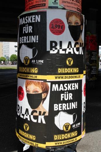 Face Masks by ... Schöneberg, Berlin, Germany