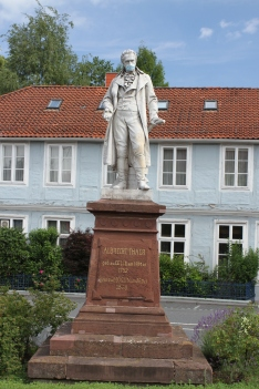 Albrecht Thaer statue, Celle, Germany