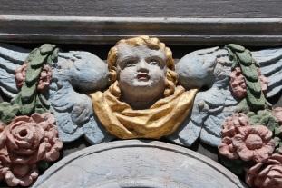 Church door detail, Stralsund, Germany