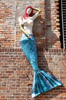 Mermaid, Stralsund, Germany