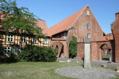 Jewish memorial, Johanniskloster, Stralsund, Germany