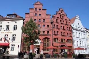 Swedish houses, Stralsund, Germany