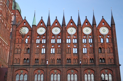 Rathaus, Alter Markt, Stralsund, Germany