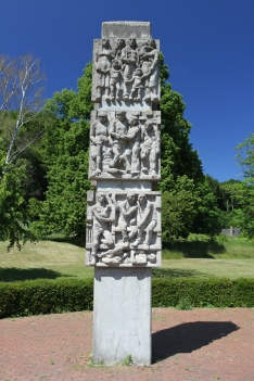 Russian WWII memorial, Sassnitz, Rügen, Germany