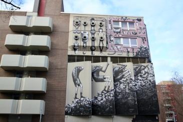 Phlegm, Street Art, Berlin, Germany